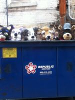 Dumpster Furs by BlueWaterRose