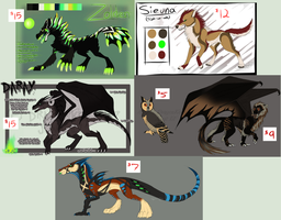 Character Designs for Sale [OPEN] by IgniteTheBlaize