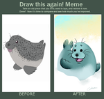 Before And After Meme by Cobean