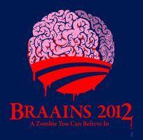 Vote Braains 2012 by 6amcrisis