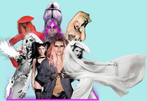 Lady GaGa Ultimate PNG / Transparent Pack by Elliott-Lee-Blogger