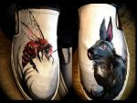 Painted Shoe Designs by Lucky978