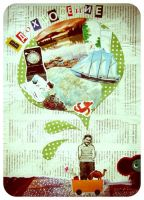 Collage about things, which inspire by Yalike