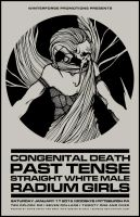 CONGENITAL DEATH PAST TENSE POSTER by BURZUM