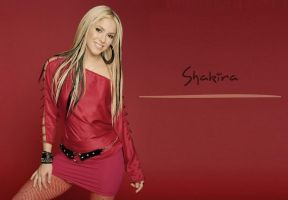 Shakira by ArtSlash13