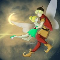 Tinkerbell's love by MiriCreations