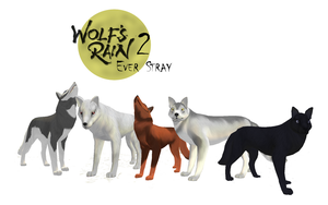 Wolf Group - Feral Heart Version by KI-Cortana