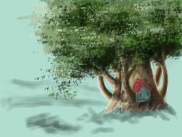 WIP Treehouse by Trapiki
