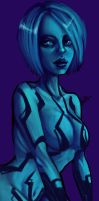 Cortana WIP 2 by Grievere