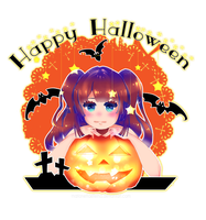 Happy Halloween!! by MarionettaEterna