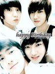 yesung siwon teuk phone wp by drizzle027