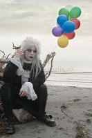 GOTHIC_A gothic Pierrot_ lotsam and Jestsam by TheOuroboros