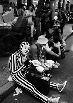 Street Clowns by FotoPhylia