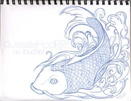 Koi Fishie- Pencils by GoaliGrlTilDeath