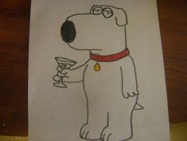 Family Guy: Brian Griffin by RarityLuver214