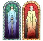 stained-glass by kettarisha