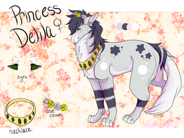 :Princess Delila Ref: by Arex-chan92
