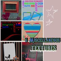 6  Miscellaneous Textures by bettdesigns