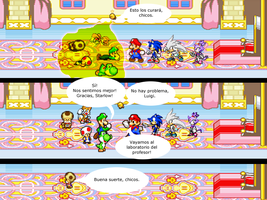 Mario and Sonic CV Chapter 4 Part 12 Spanish by Mazznick