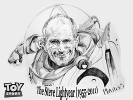 RIP-The Steve Lightyear by Trungmaster5