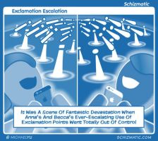 Exclamation Escalation by schizmatic