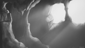 Lyra's Cave by Rhyonoceros