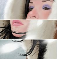 Snow Girl Close-Up by Santi90