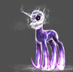 MLP crystal nightmare pony auction 6 CLOSED by ElkaArt
