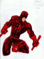 Daredevil 2 colored by Panther10