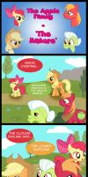 The Apple Family in The Nature by Cartoon-Admirer