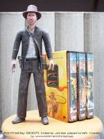 Papercraft Indiana Jones by ninjatoespapercraft