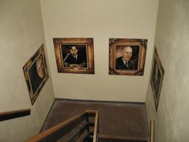 Stairwell Art 1 by Artem-Anima