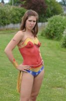 Wonder Woman Body Paint by Studio5Graphics