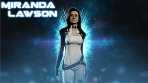 Miranda Lawson Wallpaper by doommaster500