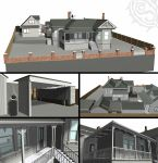 House model to scale by Shadowcat1001