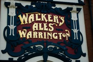 Walkers Pub Sign Liverpool by littlesu