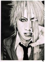 the GazettE- Ruki by FreeSpiritArtSoul
