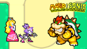 Blaze vs Bowser by jmkrebs30