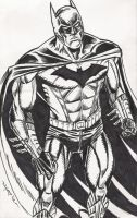 NEW 52 BATMAN WARM-UP SKETCH by FanBoy67