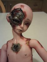 Rusting Steampunk Sweetie by mourningwake-press