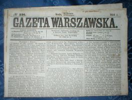 Items stock 1 - newspaper 1856 by Finsternis-stock