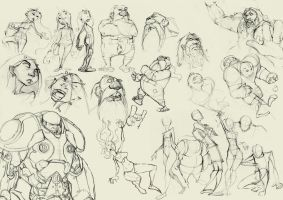 Sketches by Krivio