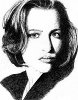 Gillian Anderson by radclyffe59