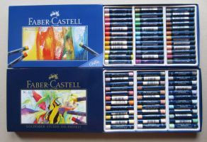 Faber Castell Oil pastels by pesim65