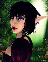 Gothic Face by Lady-Lili