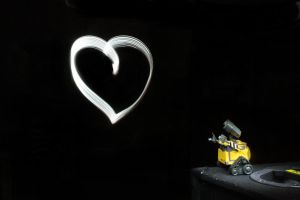 Wall-e looking for love by AnSophia