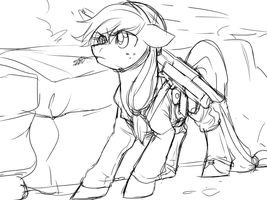 Applejack - American WW2 BAR Gunner by Lionel23