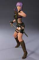 Ayane ninja gaiden 3 razor's edge - Render15 by Dizzy-XD