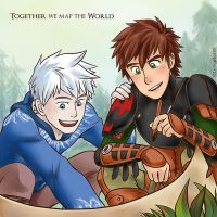 Together we map the World by MondoArt
