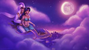 A whole new World by PetraImboden